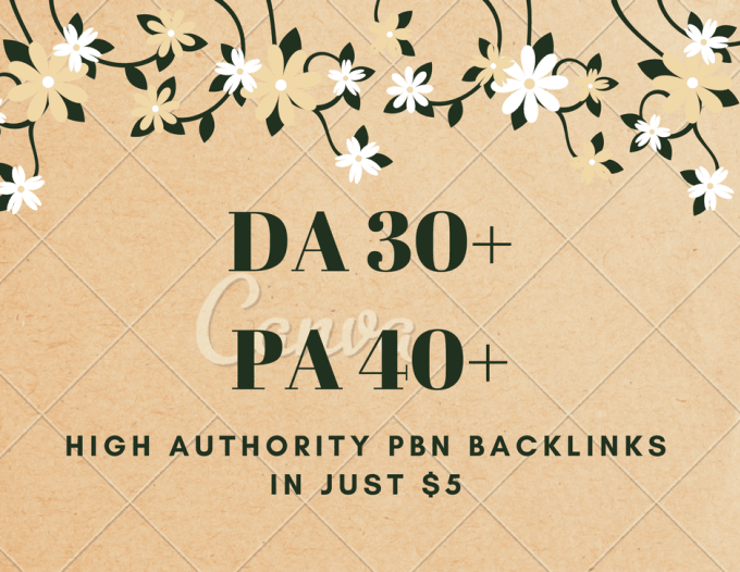 give you 3 high quality pbn backlinks da 35 and pa 45