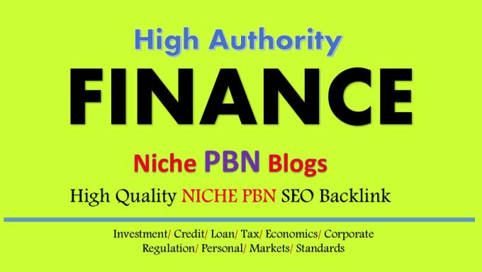 create finance niche 5 permanent pbn link