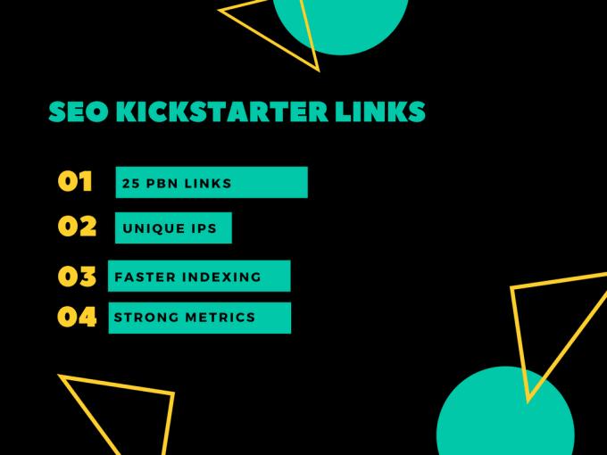 create kickstarter pbn links for your SEO campaign