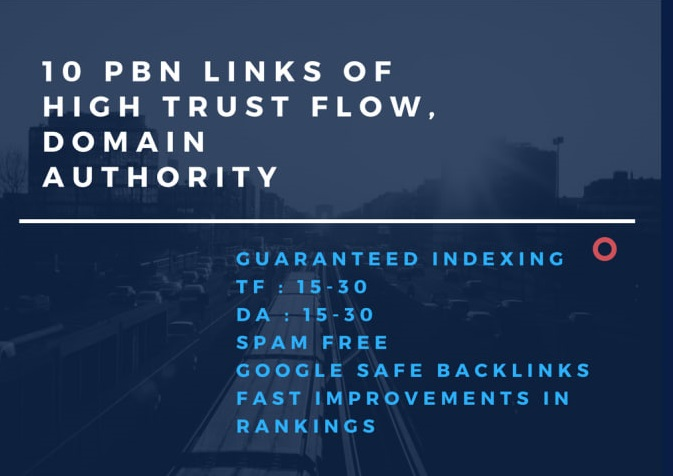 create 10 spam free pbn links for fast rankings