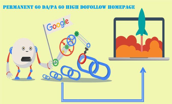 permanent 60 high da 60 homepage pbn backlinks