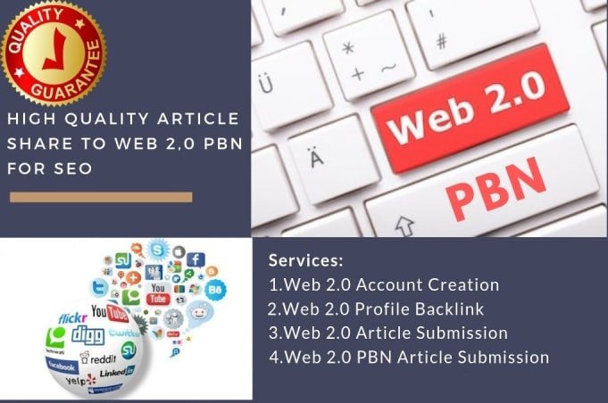 high quality article share to web 2, 0 pbn for SEO