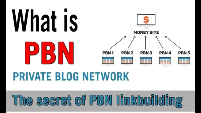 serve 5 permanent pbn links from high metrics domains sites