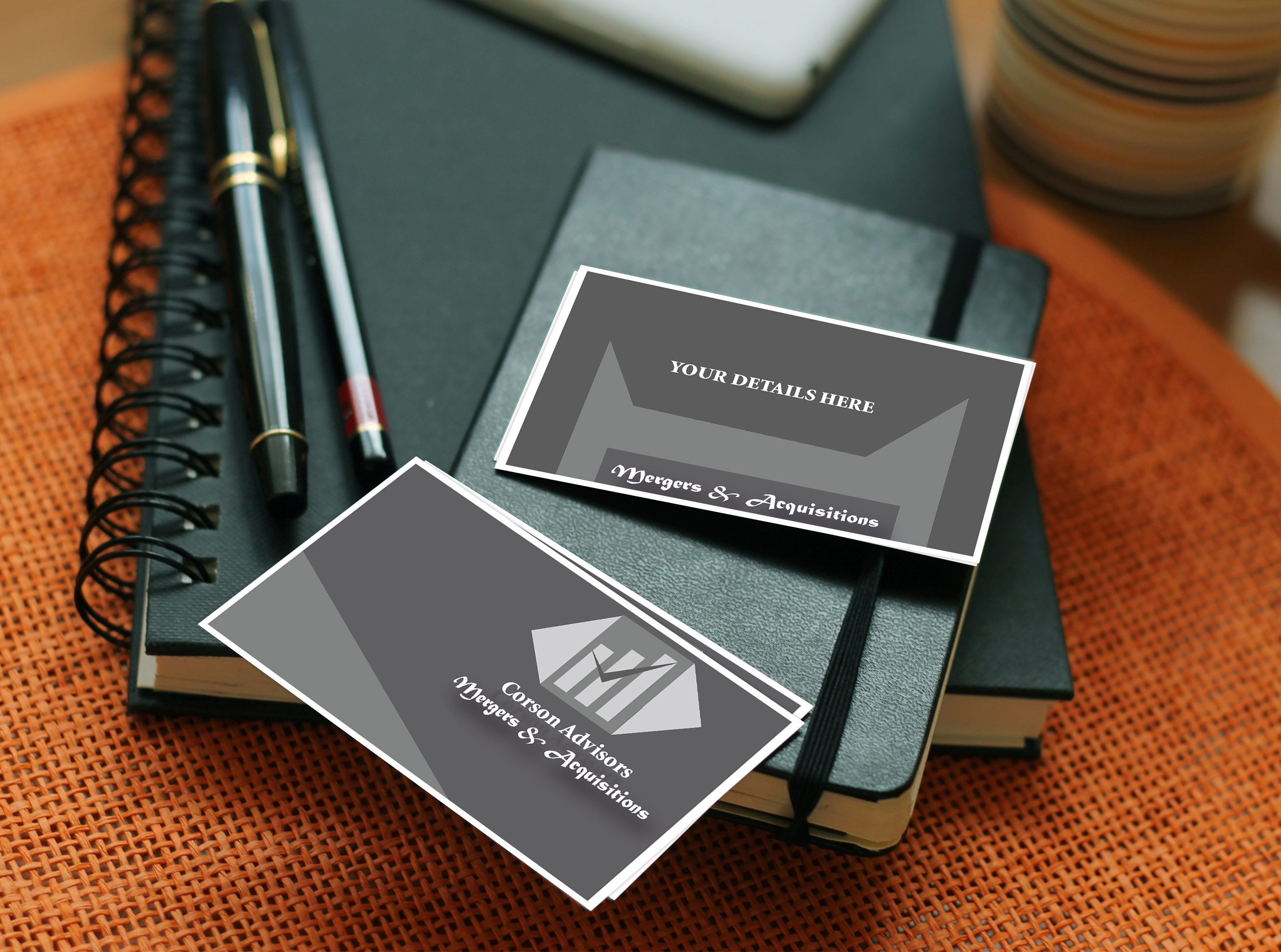 CREATE UNIQUE BUSINESS CARD DESIGN