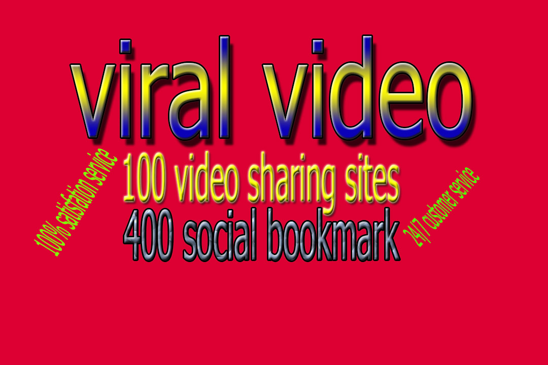 manually share your video 100 sites