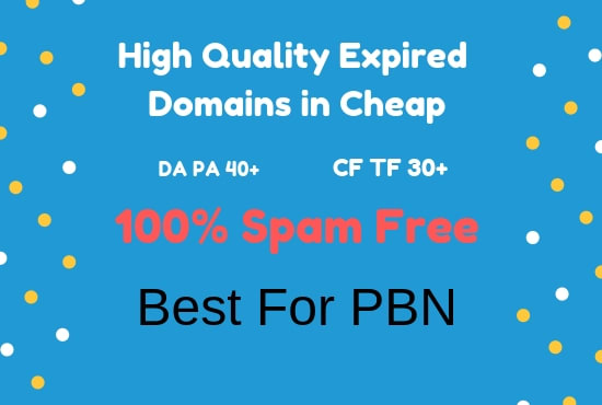 do awesome expired domain research for pbn or your we...
