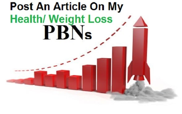 do manual high trust flow backlinks on my weight loss pbn