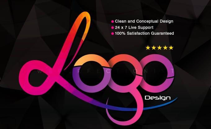 design 2 modern logo design in 24 hours