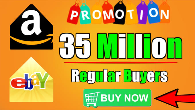 promote your product to 35 million regular buyers for you