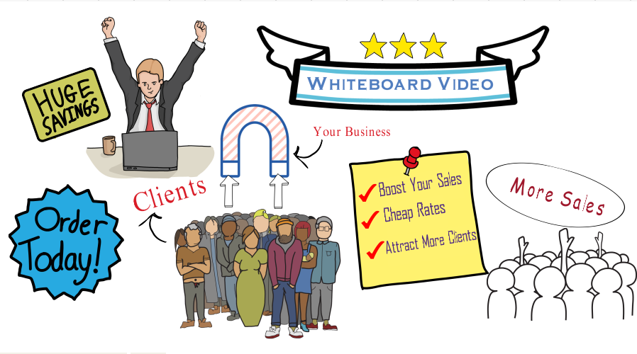 create a PROFESSIONAL WHITEBOARD ANIMATION Explainer video