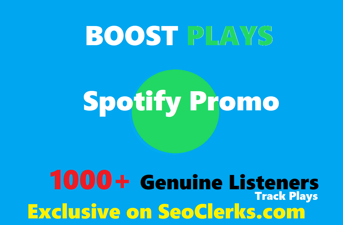 Add Your Track To Spotify Playlist to boost streams , 3-4 weeks placement