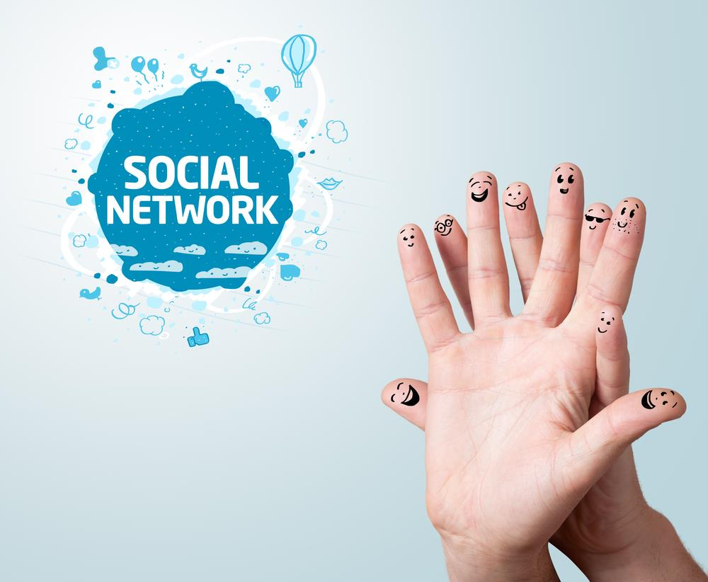 Social network profile links help your site rank among the best