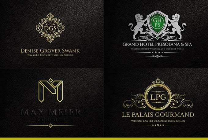 design heraldic luxury logo