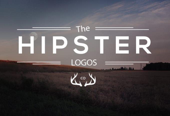 esign a vintage hipster logo