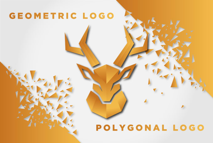 design modern, polygonal,origami, geometric logo