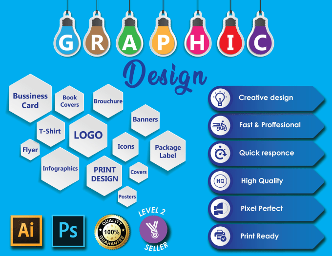 be your professional graphic designer