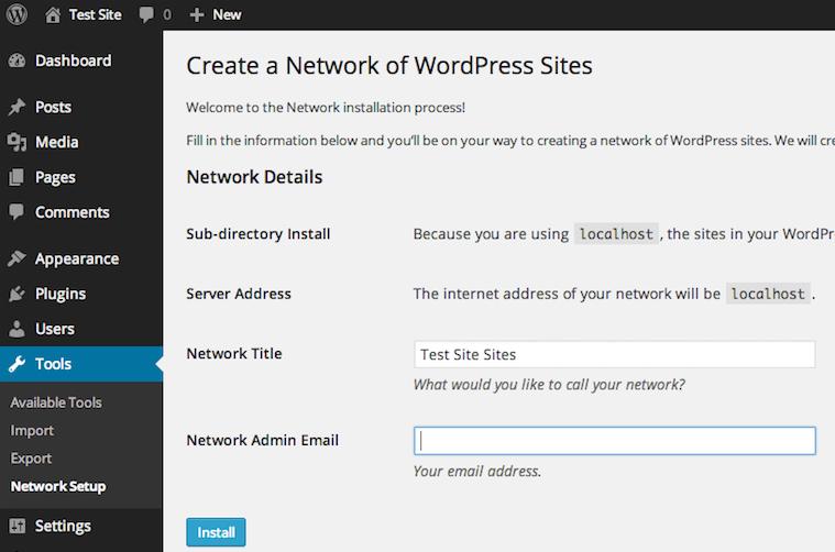 Set Up Your Wordpress Website