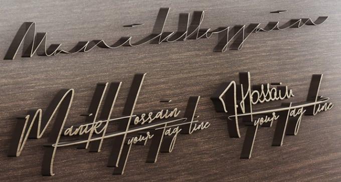 design signature,  signature logo