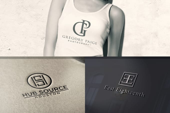 design awesome monogram logo and initial letter