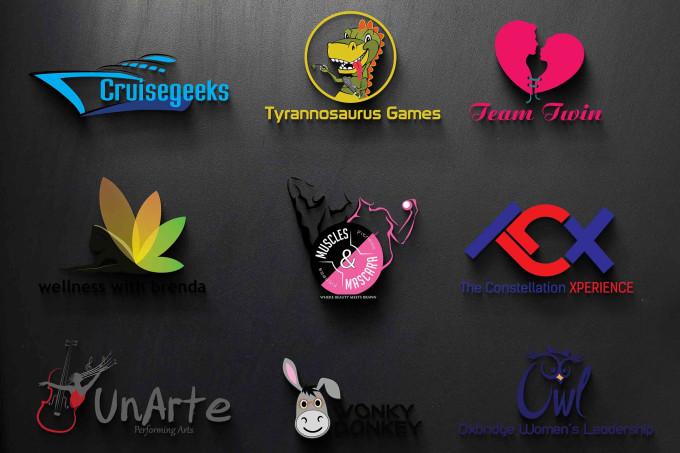 design you 3 awesome logo in 24 hrs bonus free editable file