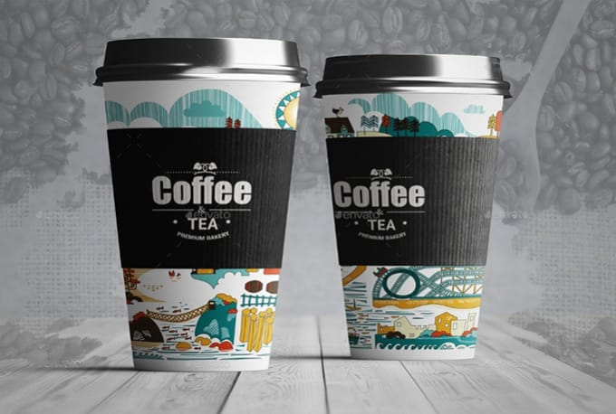 design cool coffee logo design