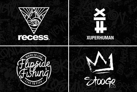 do urban streetwear clothing brand logo design