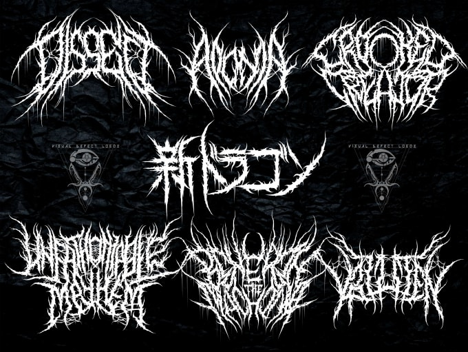 design death metal logo for your band
