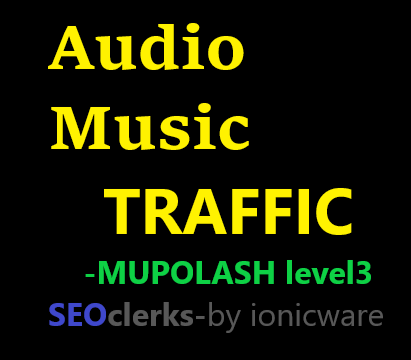 Get audio traffic on your social track / audio music within an hour