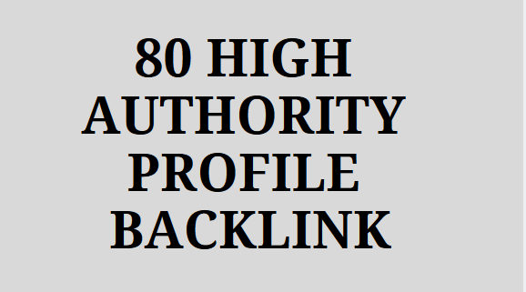 80 High Quality Special SEO Link Building Service.