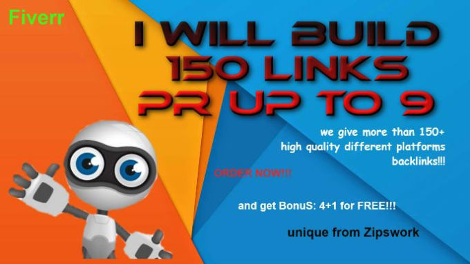 Will Build 150 Links Pr Up To 9
