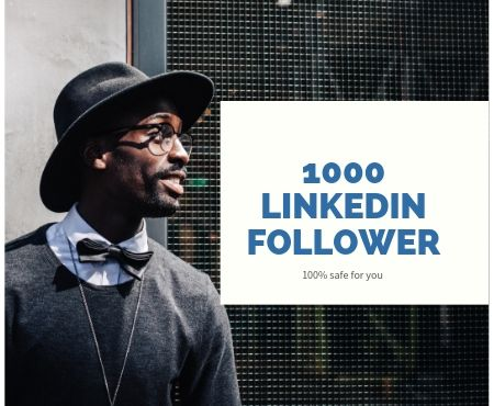 will get 1000 high quality linkedin followers