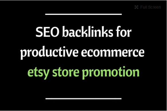 Do gsa 300k SEO backlinks for productive ecommerce etsy store promotion