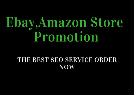 Do 1,000,000 SEO backlinks for ebay,  amazon store promotion
