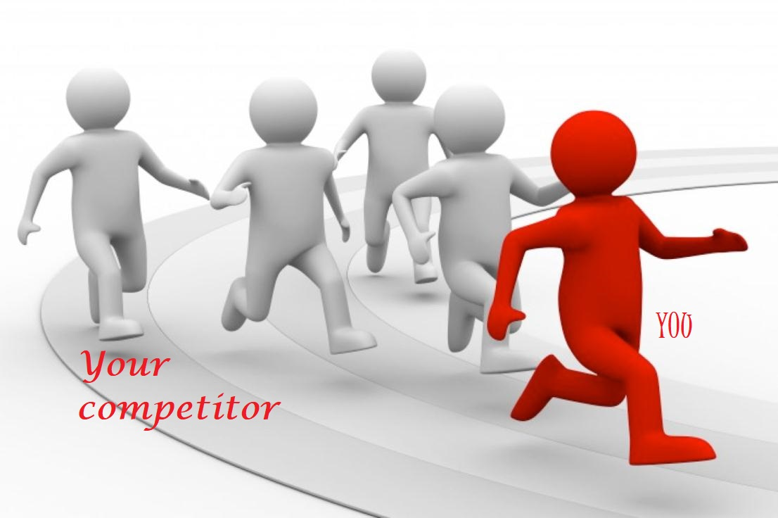 we will do 15 competitor back link submission