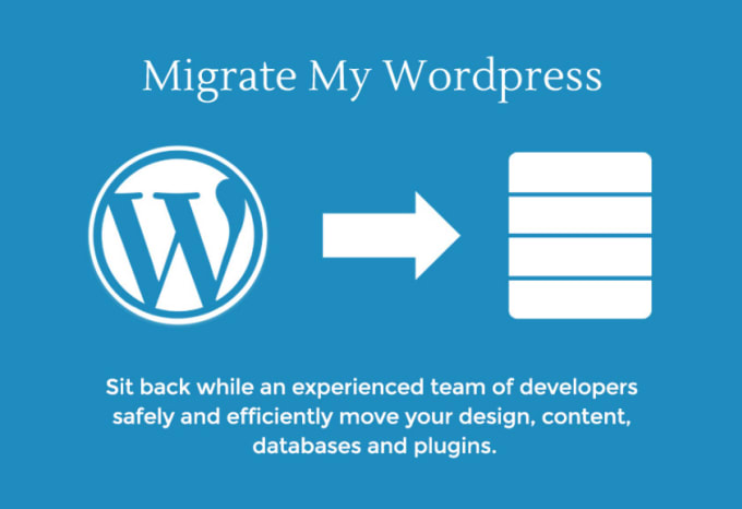 migrate your wordpress site to new server within 2 hours