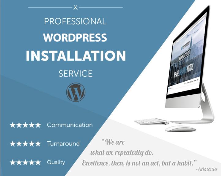 install wordpress,wordpress theme and demo upload in 3 hours