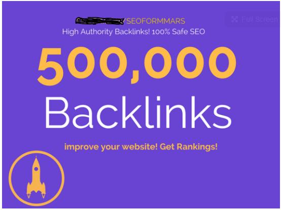 Do 500,000 gsa, ser verified backlinks for ranking your website in google