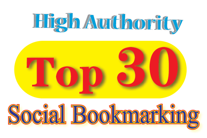 Top 30 Quality Social Bookmarking/SEO Signals/Backlin...