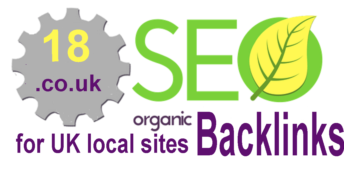 18 UK high authority backlinks for Local SEO