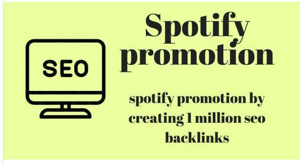 Do music promotion by creating 1 million seo backlinks
