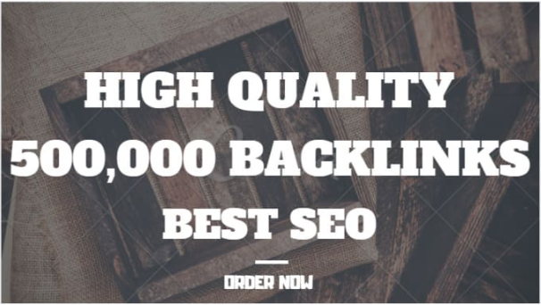 do your shopify promotion with 500,000 SEO backlinks