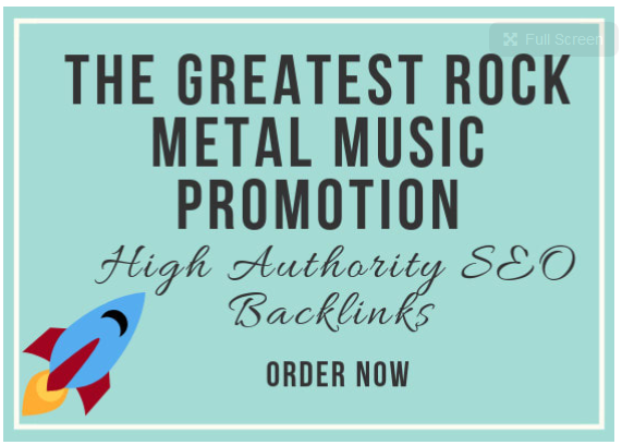 make the greatest rock metal music promotion
