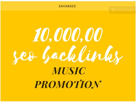 10,000, 00 seo backlinks for music promotion
