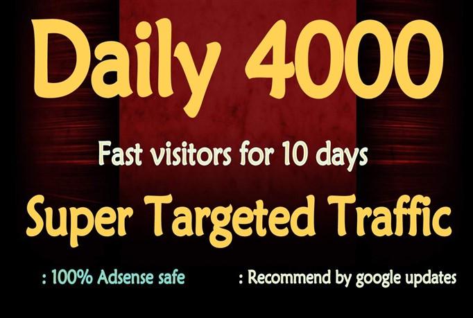generate super target usa, website, traffic, visitors