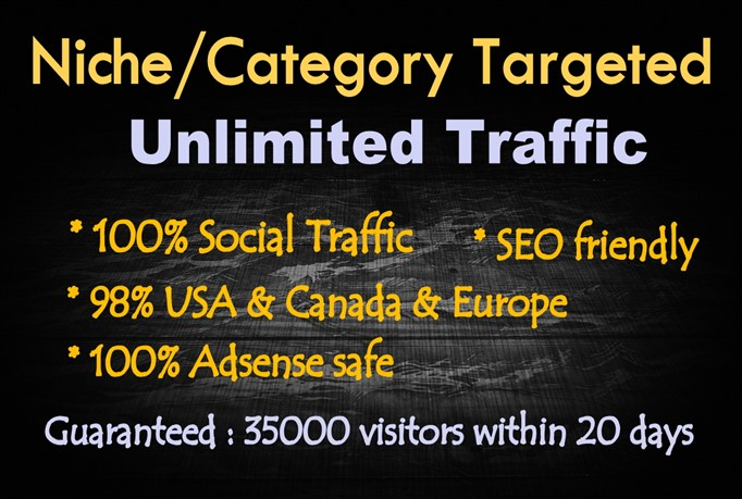 Provide quality traffic oriented friendly seo unlimited