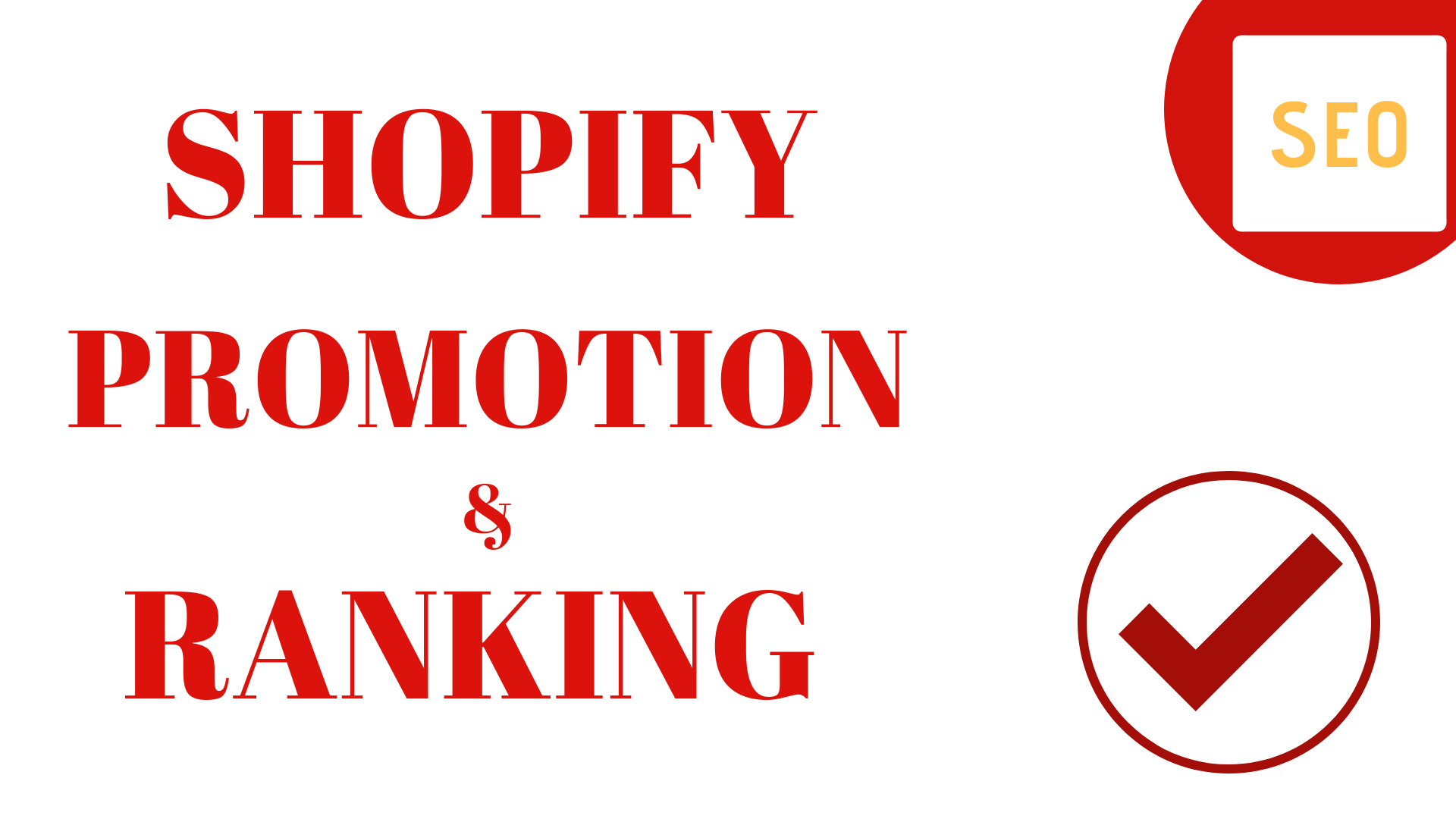 do shopify promotion to get top ranking, online store sales