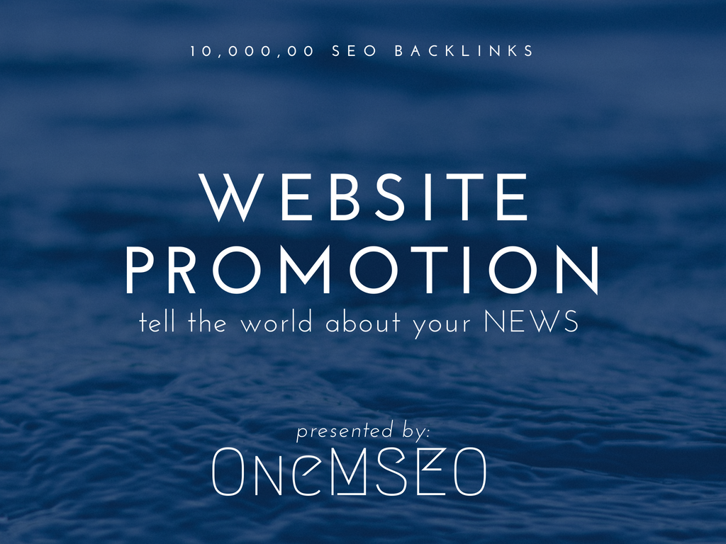 improve your website promotion with 10,000, 00 SEO backlinks