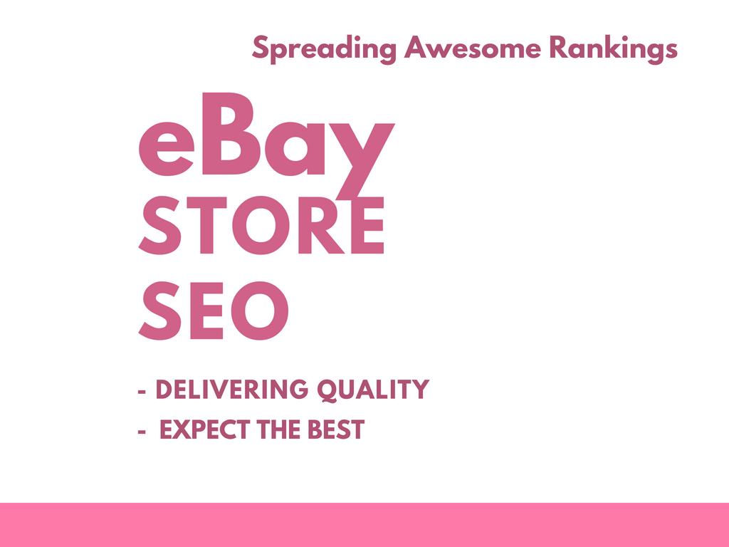 do ebay marketing with 1 million seo backlinks