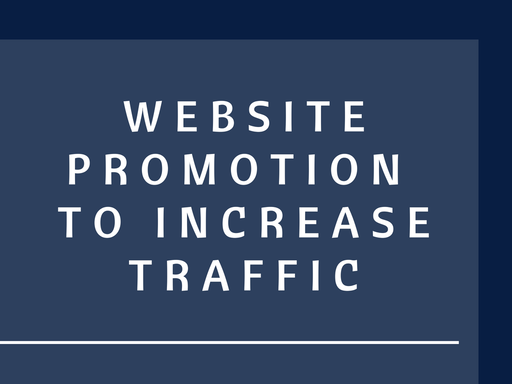 do website promotion to increase traffic