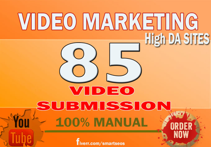 manually make video submission on 85 video sharing si...
